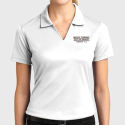 E-2 Ladies Dri Mesh Polo
