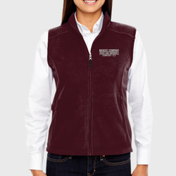 E-2 Ladies Fleece Vest